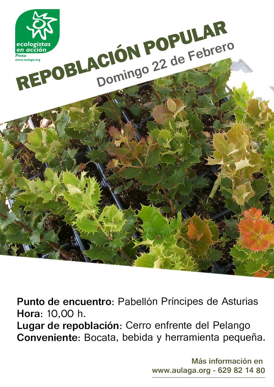 Cartel Repoblación Popular 2015